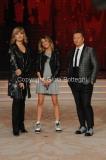 04/10/2014 Roma Ballando con le stelle, nella foto: Martina Stoessel ( Violetta), Milly Carlucci, Paolo Belli