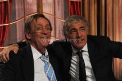 04/10/2014 Roma Ballando con le stelle, nella foto: Sandro Mayer, Massimo Giletti