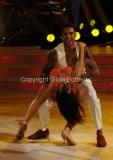 04/10/2014 Roma Ballando con le stelle, nella foto: Andrew Howe Sara Di Vaira