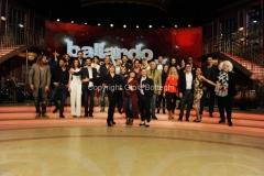 18/02/2016 Roma presentazione della undicesima edizione di Ballando con le stelle, nella foto il cast