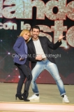 18/02/2016 Roma presentazione della undicesima edizione di Ballando con le stelle, nella foto Rita Pavone e Simone Di Pasquale
