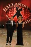 07/01/2012 Roma, Prima punta di BALLANDO CON LE STELLE, nella foto: Milly Carlucci e Paolo Belli