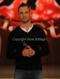 07/01/2012 Roma, Prima punta di BALLANDO CON LE STELLE, nella foto: Oscar Pistorius
