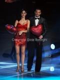 07/01/2012 Roma, Prima punta di BALLANDO CON LE STELLE, nella foto: Anna Tatangelo e Stefano Di Filippo