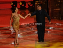 07/01/2012 Roma, Prima punta di BALLANDO CON LE STELLE, nella foto: Stefano Campagna e Natalia Maidiuk