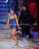 07/01/2012 Roma, Prima punta di BALLANDO CON LE STELLE, nella foto: Claudia Andreatti e Samuel Peron