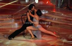 07/01/2012 Roma, Prima punta di BALLANDO CON LE STELLE, nella foto: Sergio Assisi e Ekaterina Vaganova