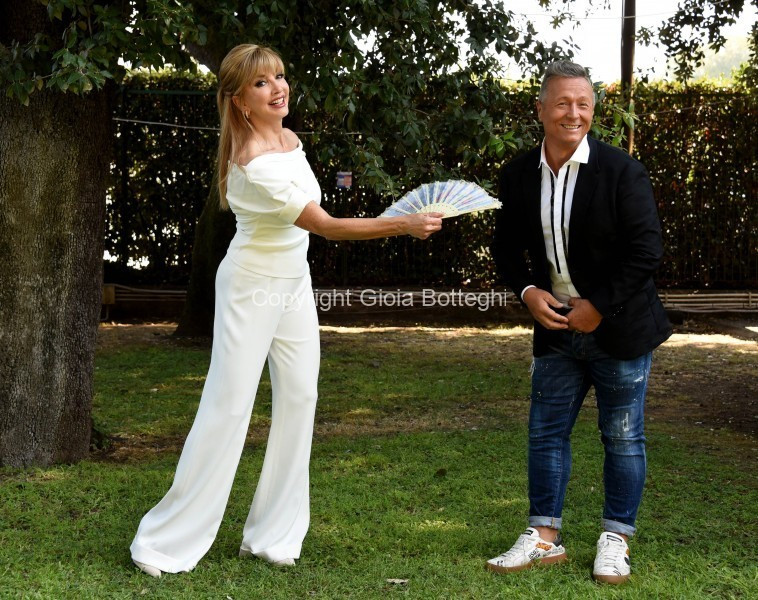 Foto/IPP/Gioia Botteghi Roma 17/09/2020 Presentazione di ballando con le stelle, nella foto Milly Carlucci con Paolo Belli Italy Photo Press - World Copyright