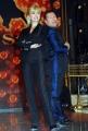 8/1/09 Roma presentazione del programma di raiuno BALLANDO CON LE STELLE, nella foto: Milly Carlucci e Paolo Belli