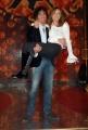 8/1/09 Roma presentazione del programma di raiuno BALLANDO CON LE STELLE, nella foto: Valentina Vezzali, Samuel Peron