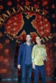 8/1/09 Roma presentazione del programma di raiuno BALLANDO CON LE STELLE, nella foto: Emanuele Filiberto e Natalia Titova