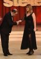 01/04/2017 Roma puntata di ballando con le stelle del 1 aprile, nella foto Nastassja kinski con Elio