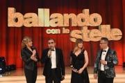 01/04/2017 Roma puntata di ballando con le stelle del 1 aprile, nella foto Nastassja kinski con Milly Carlucci, Elio , Paolo Belli