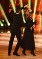 01/04/2017 Roma puntata di ballando con le stelle del 1 aprile, nella foto Nastassja kinski e Simone Di Pasquale