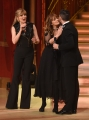 01/04/2017 Roma puntata di ballando con le stelle del 1 aprile, nella foto Nastassja kinski con Milly Carlucci e Simone Di Pasquale