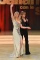 08/04/2017 Roma puntata di ballando con le stelle del 8 aprile, nella foto Marla Maples ex Trump con Milly Carlucci