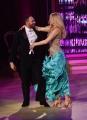 08/04/2017 Roma puntata di ballando con le stelle del 8 aprile, nella foto Marla Maples ex Trump con Stefano Oradei
