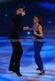 06/12/2014 Roma Finale di Ballando con le stelle , i vincitori Giusy Versace e Raimondo Todaro