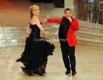 17/03/2012 Roma, Puntata finale di Ballando con le stelle, nella foto : Milly Carlucci e Paolo Belli