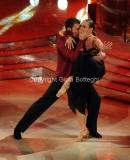 17/03/2012 Roma, Puntata finale di Ballando con le stelle, nella foto : Bobo Vieri e Natalia Titova