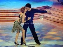 17/03/2012 Roma, Puntata finale di Ballando con le stelle, nella foto : Lucrezia Lante Della Rovere e Simone Di Pasquale