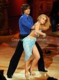 17/03/2012 Roma, Puntata finale di Ballando con le stelle, nella foto : i vincitori Gil Andres e Anastasia Kuzmina