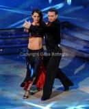 17/03/2012 Roma, Puntata finale di Ballando con le stelle, nella foto : Anna Tatangelo e Stefano Di Filippo