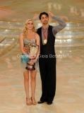17/03/2012 Roma, Puntata finale di Ballando con le stelle, nella foto : Ria Antoniu e Raimondo Todaro terzi Classificati