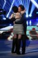 Foto/Gioia Botteghi 19/05/2018 Roma, Serata finale di Ballando con le stelle, nella foto: Cesare Bocci con la moglie Daniela Spada  Italy Photo Press - World Copyright