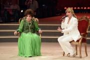Foto/Gioia Botteghi 19/05/2018 Roma, Serata finale di Ballando con le stelle, nella foto: Gina Lollobrigida con Milly Carlucci  Italy Photo Press - World Copyright
