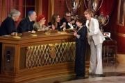 Foto/Gioia Botteghi 19/05/2018 Roma, Serata finale di Ballando con le stelle, nella foto: Gina Lollobrigida con Milly Carlucci e la giuria  Italy Photo Press - World Copyright