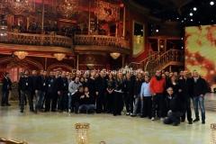 07/12/2013 Roma ultima puntata di Ballando con le stelle, tutti i collaboratori