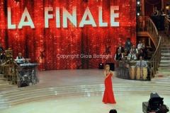 07/12/2013 Roma ultima puntata di Ballando con le stelle, nella foto: Milly Carlucci