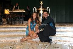 07/12/2013 Roma ultima puntata di Ballando con le stelle, nella foto: i vincitori Elisa Di Francisca e Raimondo Todaro