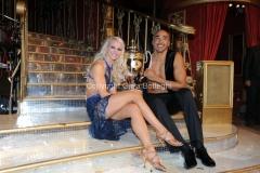 07/12/2013 Roma ultima puntata di Ballando con le stelle, nella foto: Amaurys Perez e Veera Kinnunen secondi classificati
