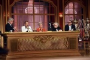 29/04/2017 Roma puntata finale di Ballando con le stelle, nella foto: la giuria senza la Lucarelli