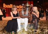 29/04/2017 Roma puntata finale di Ballando con le stelle, nella foto: i vincitori Oney Tapia e Veera Kinnunen con Milly Carlucci