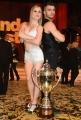 29/04/2017 Roma puntata finale di Ballando con le stelle, nella foto: i secondi classificati Fabio Basile e Anastasia Kuzmina