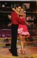 Roma 9/01/2010 prima puntata di BALLANDO CON LE STELLE, nella foto: Benedetta Valanzano e Dmitry Pachomov