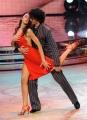 Roma 9/01/2010 prima puntata di BALLANDO CON LE STELLE, nella foto: Cecilia Capriotti e Samuel Peron