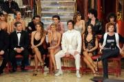 Roma 9/01/2010 prima puntata di BALLANDO CON LE STELLE, nella foto: i concorrenti
