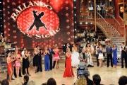 Roma 9/01/2010 prima puntata di BALLANDO CON LE STELLE, nella foto: Tutti i concorrenti