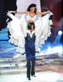 Roma 9/01/2010 prima puntata di BALLANDO CON LE STELLE, nella foto: Stefano Pantano e Tinna Hoffmann