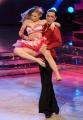 Roma 9/01/2010 prima puntata di BALLANDO CON LE STELLE, nella foto: Veronica Olivier e Raimondo Todaro