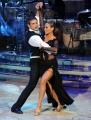 Roma 9/01/2010 prima puntata di BALLANDO CON LE STELLE, nella foto: Lorenzo Crespi e Natalia Titova