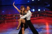 Roma 9/01/2010 prima puntata di BALLANDO CON LE STELLE, nella foto: Margherita Granbassi e Stefano Di Filippo