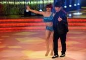 25/02/2017 Roma Prima puntata di Ballando con le stelle, nella foto: Fausto Leali e Ornella Boccafuschi