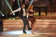 25/02/2017 Roma Prima puntata di Ballando con le stelle, nella foto: Simone Montedoro e Alessandra Tripoli