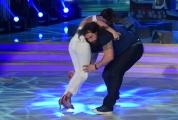 25/02/2017 Roma Prima puntata di Ballando con le stelle, nella foto: Martin Castrogiovanni e Sara Di Vaira