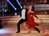 25/02/2017 Roma Prima puntata di Ballando con le stelle, nella foto: Anna Galiena e Simone de Pasquale